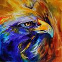GOLDEN EAGLE ABSTRACT  (thumbnail)