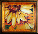 Painting--Oil-FloralSUNFLOWER DUO