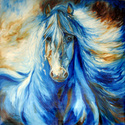 DREAM CATCHER ~ EQUINE ABSTRACT (thumbnail)