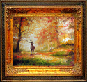 DEER PATH by M BALDWIN (thumbnail)