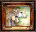Painting--Oil-AnimalsGENTLE SPIRITS EQUINE ART