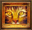 Painting--Oil-AnimalsTABBY FRIEND ~ OIL ~ 14 X 11