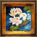 WATERLILY 3 by M BALDWIN (thumbnail)