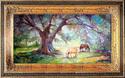 Painting--Oil-LandscapeThe Shady Oak Tree ~ Equine Original