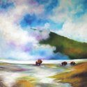 YELLOWSTONE BUFFALO ~ A COMMISSIONED OIL PAINTING ~ ARTIST MARCIA BALDWIN (thumbnail)