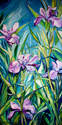 LOUISIANA WILD IRIS by M BALDWIN (thumbnail)