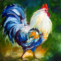 ROOSTERWALK ~ FUN FARM ANIMALS by M BALDWIN (thumbnail)