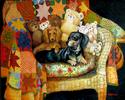 COMMISSION A PET PORTRAIT by M BALDWIN (thumbnail)