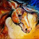 STALLION PRIDE by M BALDWIN EQUINE ART (thumbnail)