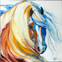 GYPSY VANNER DREAM by M BALDWIN (thumbnail)