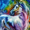 MYSTIC POWER EQUINE ABSTRACT (thumbnail)