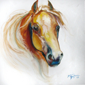 GOLDEN STALLION 20 by M BALDWIN (thumbnail)