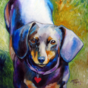 DOXIE HEART by M BALDWIN (thumbnail)