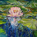 SWEET LOTUS  by M BALDWIN (thumbnail)