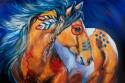 BOLD & BRAVE Indian War Horse (thumbnail)