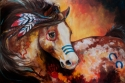 TOBIANO INDIAN WAR HORSE (thumbnail)