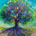 PURPLE HEART Tree of Life (thumbnail)