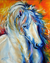 FIRE THUNDER EQUINE by M BALDWIN (thumbnail)