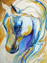ARABIAN ABSTRACT by M BALDWIN (thumbnail)