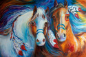 SPIRIT INDIAN WAR HORSES DOULEY & NORTON (thumbnail)