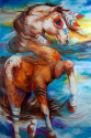 SPIRIT THUNDER INDIAN WAR HORSE (thumbnail)