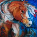 BRAVEHEART WARRIOR Indian War Horse (thumbnail)