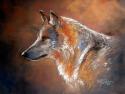 LONE WOLF PASTEL (thumbnail)