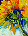 SUNFLOWER in JULY by M BALDWIN (thumbnail)