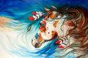 THE DRIFTER ~ INDIAN WAR HORSE