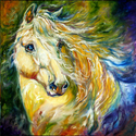 EVERGREEN WIND the ANDALUSIAN by M BALDWIN (thumbnail)