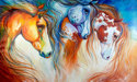 SUN MOON STARS Indian War Horses (thumbnail)