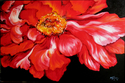 The RED PEONY by M Baldwin (thumbnail)