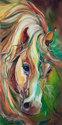 WILD STORM Abstract Horse (thumbnail)