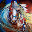 INDIAN WAR HORSE FEARLESS (thumbnail)