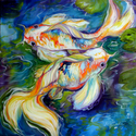 DANCE of the KOI by M BALDWIN (thumbnail)