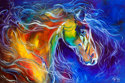 COLOR MY WORLD WITH HORSES NO.2 (thumbnail)