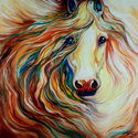 FRIENDSHIP EQUINE ABSTRACT (thumbnail)