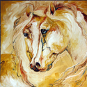 EQUINE FRIENDS of GOLD (thumbnail)