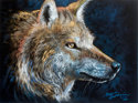 WOLF in PASTEL (thumbnail)