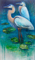 SERENITY Great Blue Herons of Florida (thumbnail)