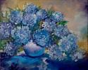 BLUE HYDRANGEA (thumbnail)