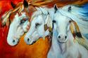 Painting--Oil-AnimalsWARRIORS