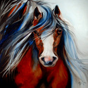 Dark Bay Stallion (thumbnail)
