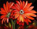 Painting--Oil-FloralLOVE LOVE