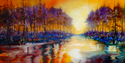 Painting--Oil-LandscapeMOSSY BAYOU