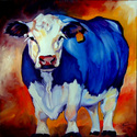 BLUE HAPPY COW (thumbnail)
