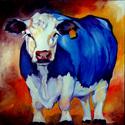 BLUE HAPPY COW (thumbnail)