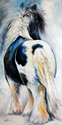 GYPSY VANNER MODERN ABSTRACT (thumbnail)