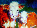 Painting--Oil-AnimalsHEREFORD