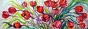 Painting--Oil-AbstractTULIP ABSTRACT ~ 36